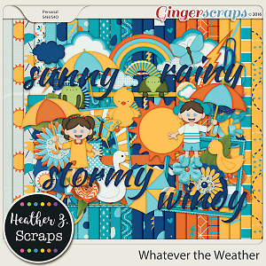Whatever the Weather KIT by Heather Z Scraps