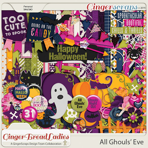 GingerBread Ladies Collab: All Ghouls' Eve