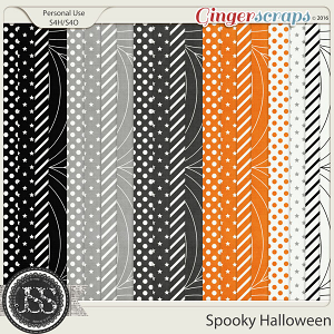 Spooky Halloween Pattern Papers