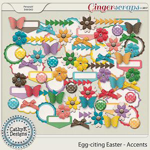 Egg-citing Easter - Accents