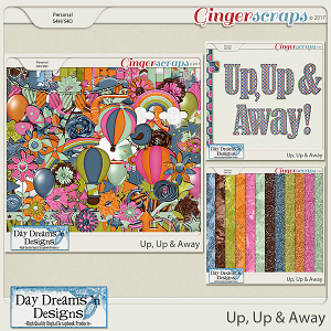 Up, Up, & Away {Bundle Collection} by Day Dreams 'n Designs