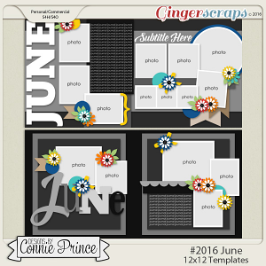 #2016 June - 12x12 Template Pack (CU Ok)