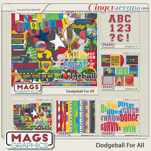 Dodgeball For All BUNDLE by MagsGraphics