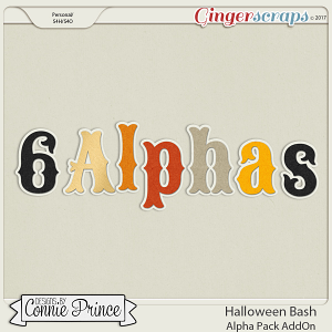 Halloween Bash- Alpha Pack AddOn