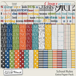 Retiring Soon - School Rules - Extra Paper Pack