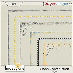 Under Construction Edges by Lindsay Jane