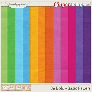Be Bold Basic Paper Pack