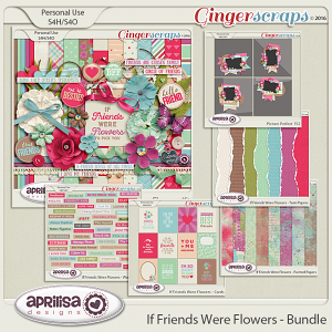 If Friends were Flowers - Bundle