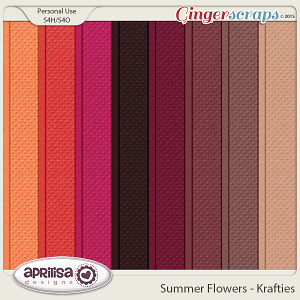 Summer Flowers - Krafties by Aprilisa Designs