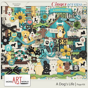 A Dog's Life Page Kit