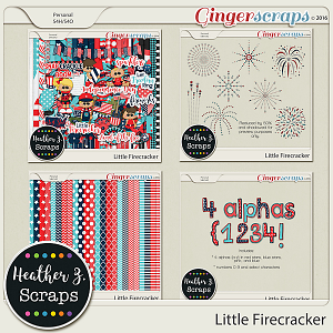 Little Firecracker BUNDLE by Heather Z Scraps