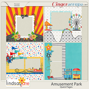 Amusement Park Quick Pages by Lindsay Jane