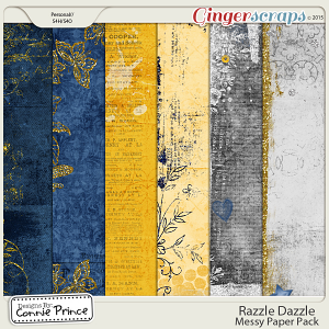 Razzle Dazzle - Messy Papers