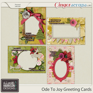 Ode to Joy Greeting Cards by Aimee Harrison