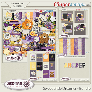Sweet Little Dreamer - Bundle by Aprilisa Designs