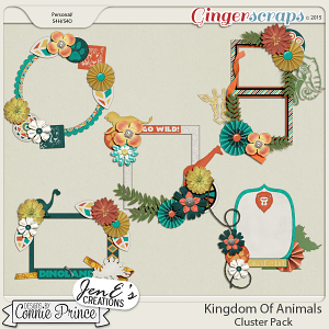 Kingdom Of Animals - Cluster Pack