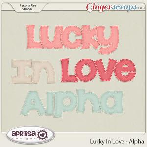 Lucky In Love - Alpha by Aprilisa Designs