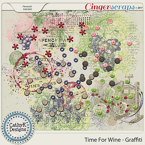 Time for Wine - Graffiti