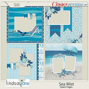 Sea Mist Quick Pages by Lindsay Jane