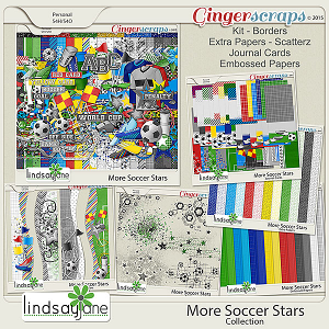 More Soccer Stars Collection by Lindsay Jane