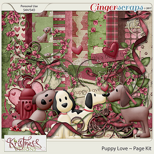 Puppy Love Page Kit