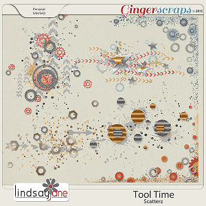 Tool Time Scatterz by Lindsay Jane