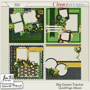 Retiring Soon - Big Green Tractor - QuickPage Album