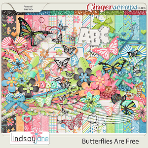 Butterflies Are Free by Lindsay Jane