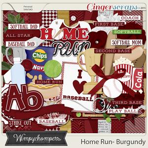 Home- Run- Burgundy