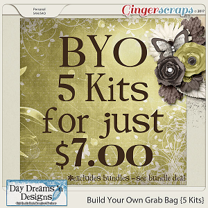 Build Your Own Grab Bag {5 Kits} by Day Dreams 'n Designs