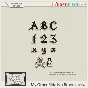 My Other Ride is a Broom {alpha} by Little Rad Trio
