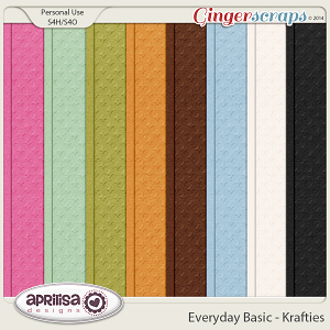 Everyday Basic - Krafties by Aprilisa Designs