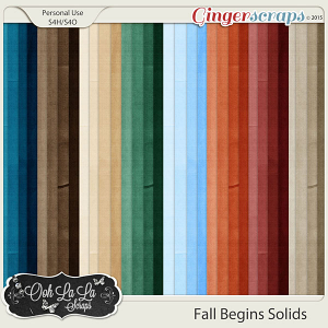 Fall Begins Solids Papers