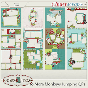 No More Monkeys Jumping Quick Pages