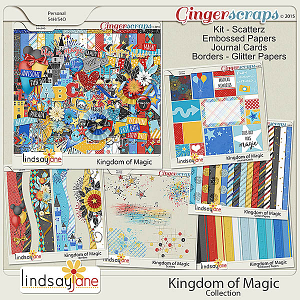 Kingdom of Magic Collection by Lindsay Jane