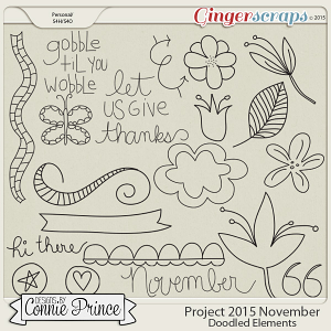 Project 2015 November - Doodled Elements