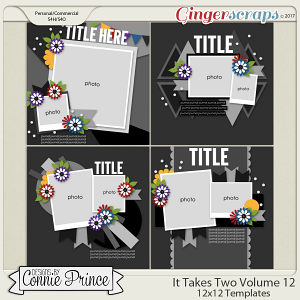 It Takes Two Volume 12 - 12x12 Temps (CU Ok)