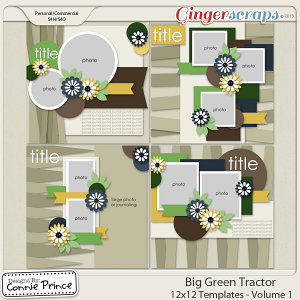 Retiring Soon - Big Green Tractor - 12x12 Temps (CU Ok) Volume 1
