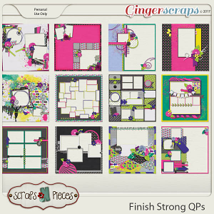 Finish Strong Quick Pages