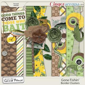 Gone Fishin' - Border Clusters