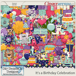 It's a Birthday Celebration {Kit} by Day Dreams 'n Designs