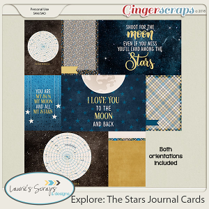Explore: The Stars Journal Cards