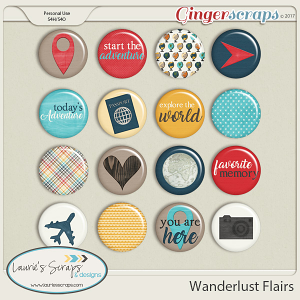 Wanderlust Flairs