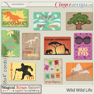 Wild Wild Life Journal Cards
