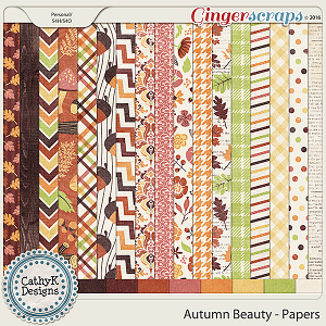 Autumn Beauty - Papers