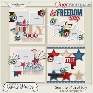 4th Of July - 12x12 Temps (CU Ok)