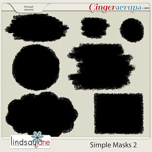 Simple Masks 2 by Lindsay Jane