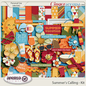 Summer's Calling - Kit by Aprilisa Designs