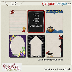 ConGrads Journal Cards