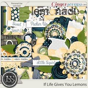 If Life Gives You Lemons Digital Scrapbook Kit